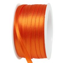 Gave- og dekorasjonsbånd 6mm x 50m oransje