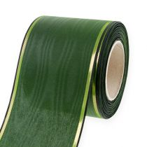 Kransbånd mørkegrønt 75mm 25m