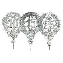 Jubileumstall sølv