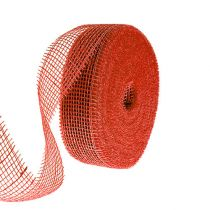 Jutebånd rødt 5cm 40m