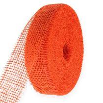Jutebånd oransje 5cm 40m