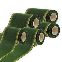 Kransebånd moiré mørkegrønn
