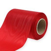 Kransbånd rød 125mm 25m