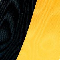 Kransebånd moiré gul-svart