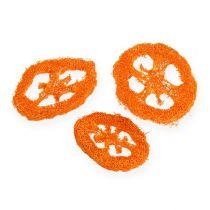 Luffa skiver oransje 25stk