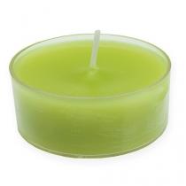Maxi lyser grønt Ø5,7cm 4stk