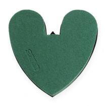 OASIS® hjerte med bunn 17cm 4stk