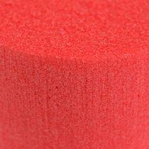 Plugg dimensjoner sylinder Ø8cm rød 6stk