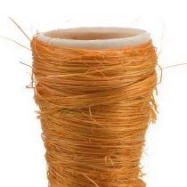 Sisal vase oransje Ø3cm L30cm 12stk