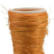 Spiss vase sisal oransje Ø4,5cm L60cm 5stk