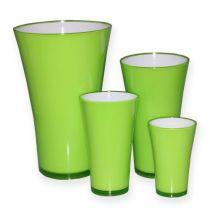 """Vase av plast """"Fizzy"""" eplegrønn, 1p"""