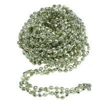 Dekorativ krans mintgrønn 2,65m