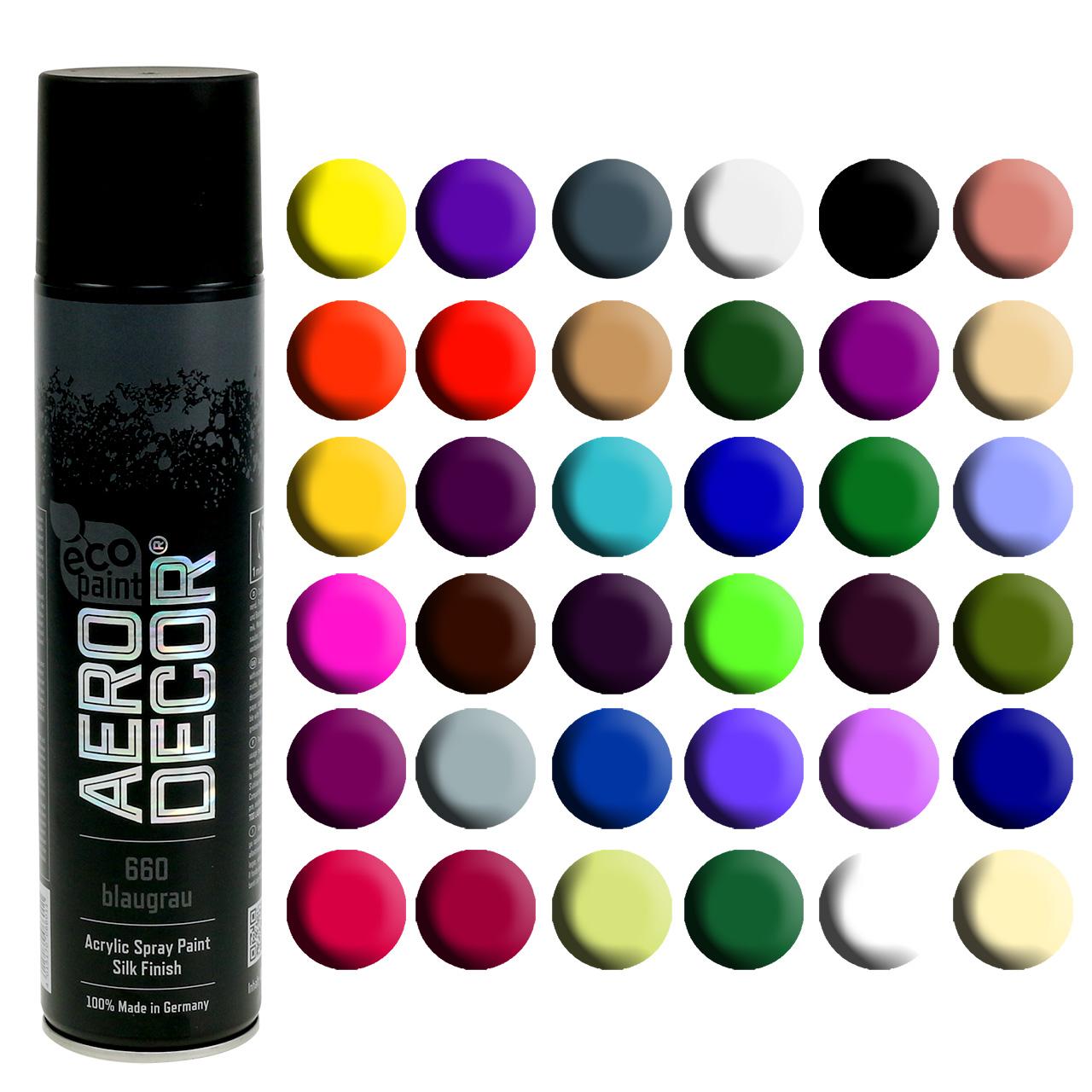 Color Spray silke matt forskjellige farger 400ml
