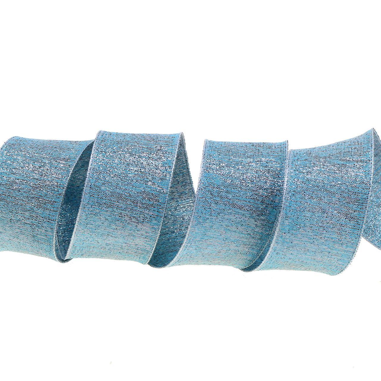 Dekorativt bånd med glimmer 40mm 20m