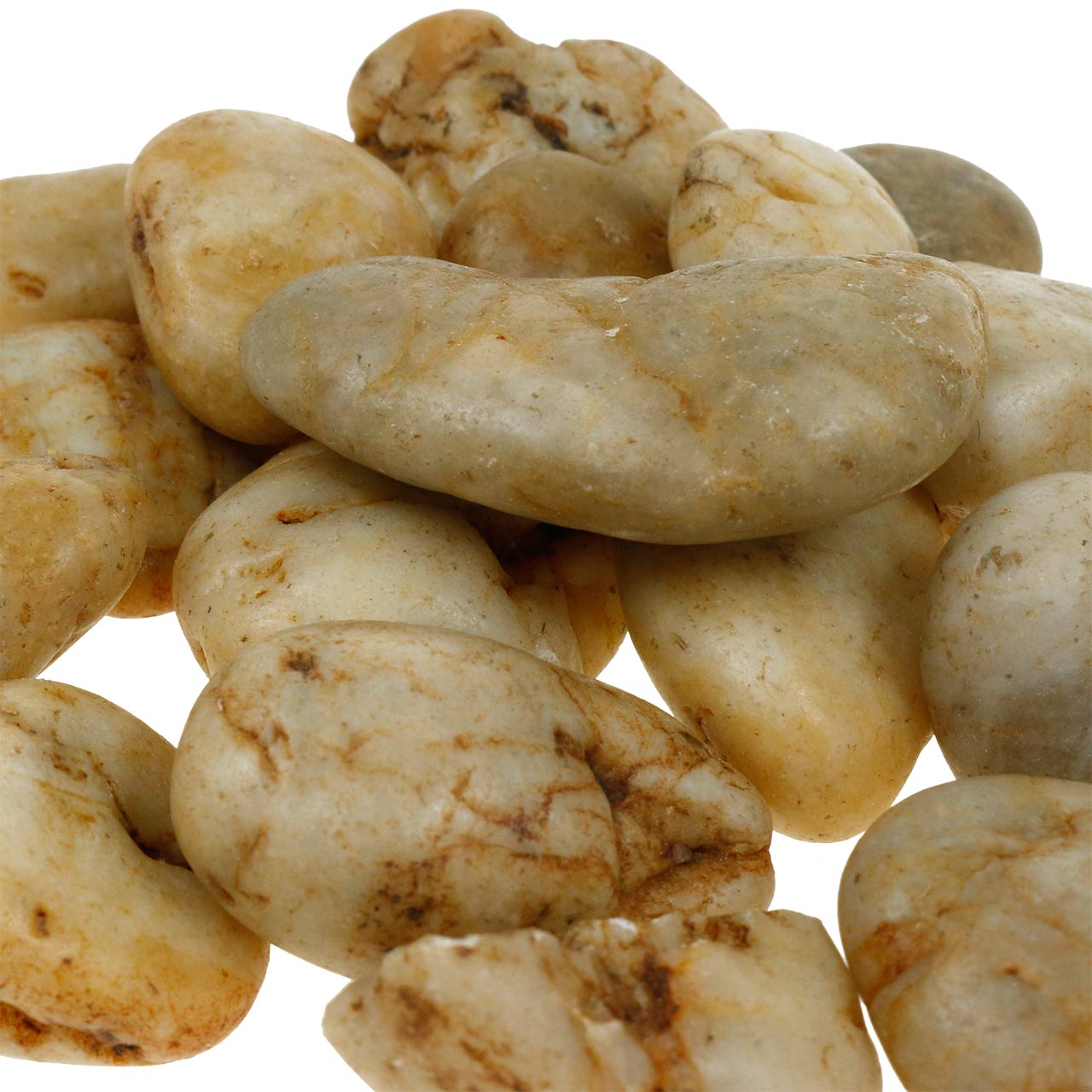 River pebbles naturlig krem 3-5cm 1kg