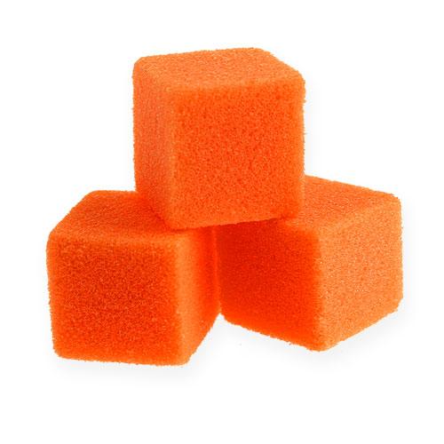 Våt skum mini-kube oransje 300p