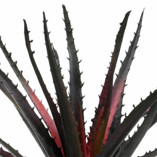 Aloe Vera kunstig lilla 26cm