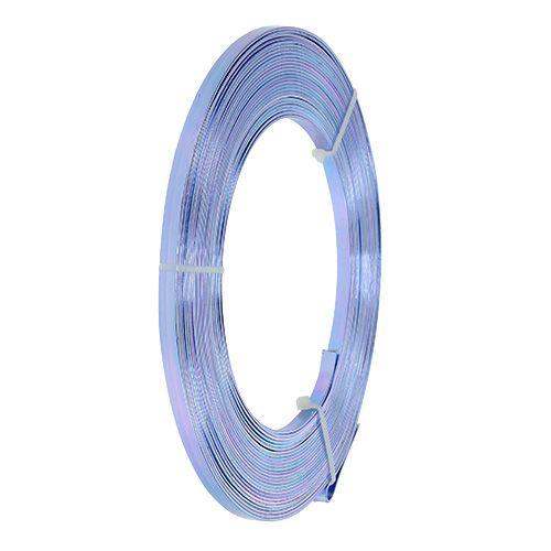 Aluminium flat wire lilla 5mm 10m