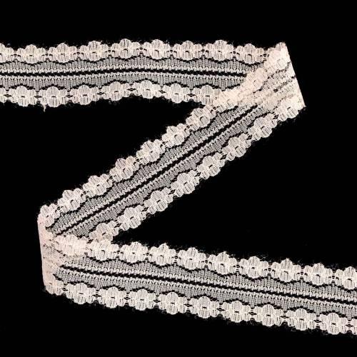 Blonder bånd deco bånd rosa 20m 3cm gaveinnpakning