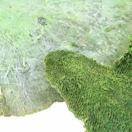 Tresvamp grønn hvitvasket 1kg