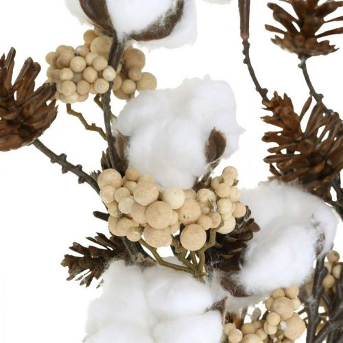 Dekorative kvister Julen blandes kunstig Assortert i en bunt på 29 cm