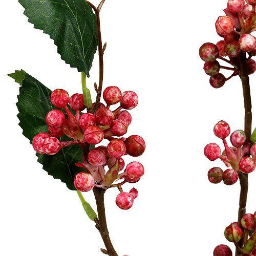 Bærgren kunstig rød-hvit 64cm 6stk