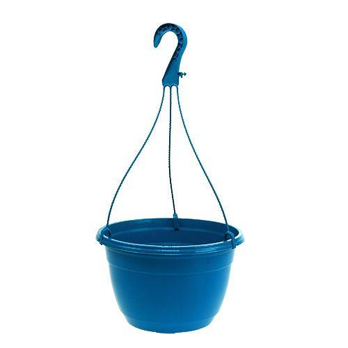 Blomsterkurv 25cm blå