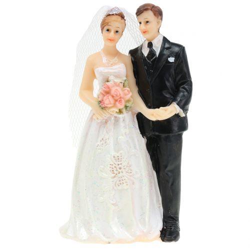 Brudepar, bryllupspar 10,5cm