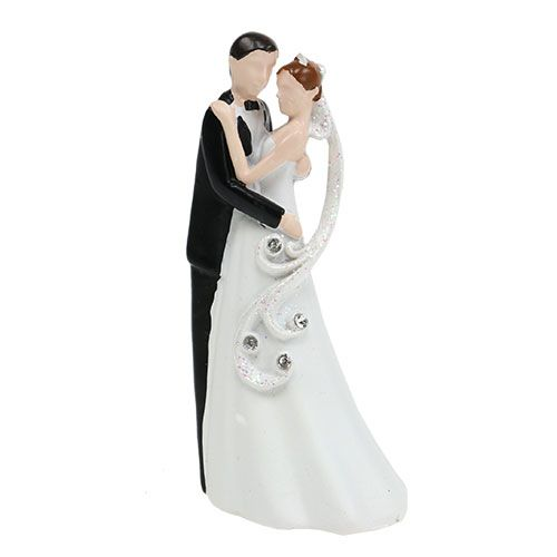 Dekorasjonsfigur brudepar 10,5cm
