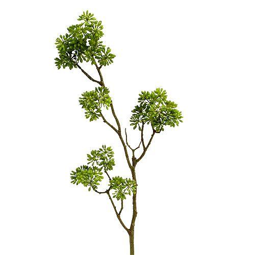 Dekorativ gren grønn 80cm