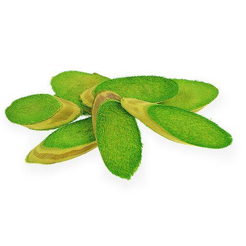 Dekorative treplater vårgrønne 300g