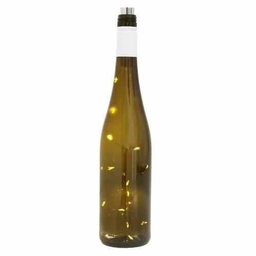 LED-flaske lys varmhvit 73cm 15L