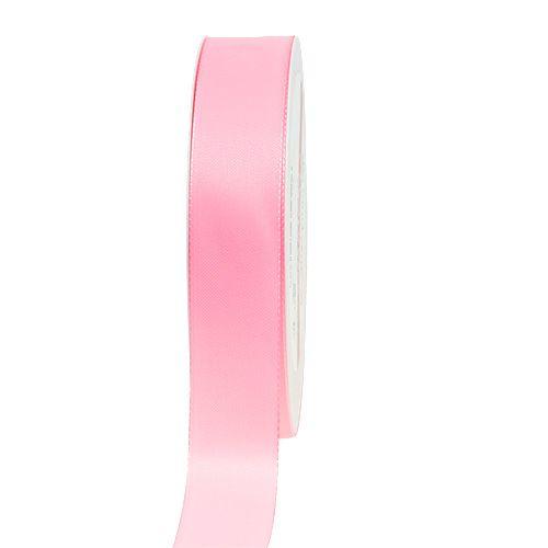 Gave- og dekorasjonsbånd 50m lys rosa
