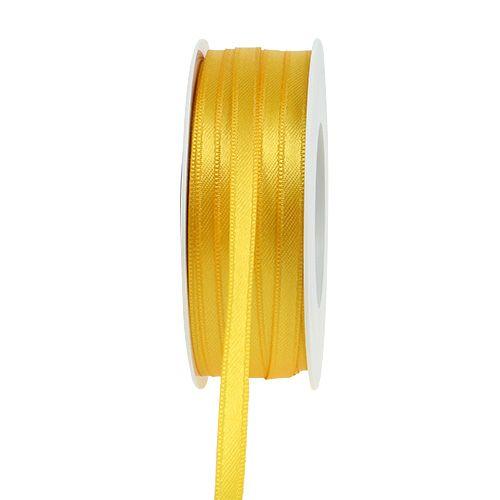 Gavebånd gul 6mm x 50m