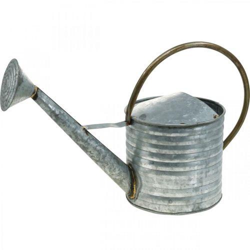 Vannkanne av metall antikt utseende 52 × 20 × 33 cm