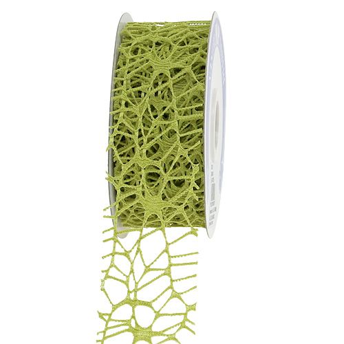 Rutenettbånd grønn 40mm 10m