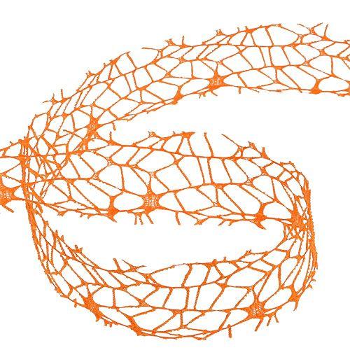 Gitterbånd oransje 40mm 10m