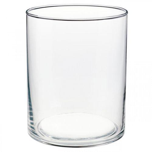 Glassvase Ø12cm H15cm