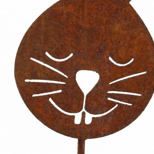 Hasenkopf metallplugg rust H52,5cm
