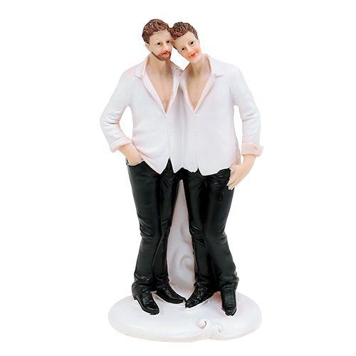 Bryllupsfigur mann par 19cm