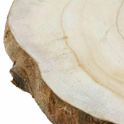 Treplate naturlig Ø25-32cm