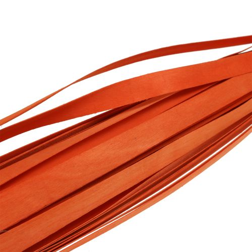 Trestrimler for fletting av oransje 95cm - 100cm 50p