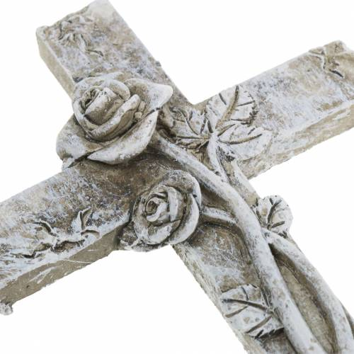 Gravdekorasjonskors 7,5 cm x 11 cm 4 stk