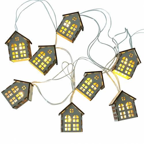 LED-eventyrlys huser batteridrevet
