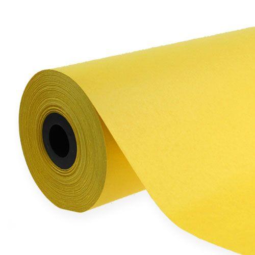 Mansjettpapir 37,5 cm 100 m gult