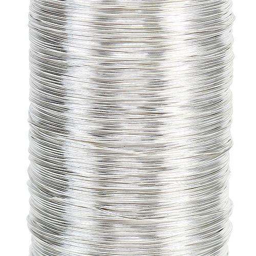 Myrteltråd sølv 0.30mm 100g
