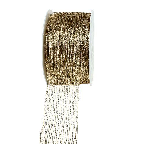 Mesh bånd gullforsterket 40mm 15m