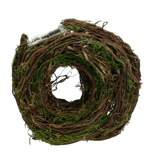 Naturlig plantekrans 28cm x 30cm