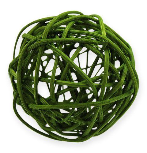 Rottingkuler Ø4,5cm assortert grønt 30stk