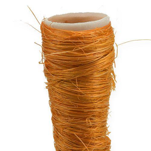 Sisal spiss vase oransje Ø1,5cm L15cm 20stk